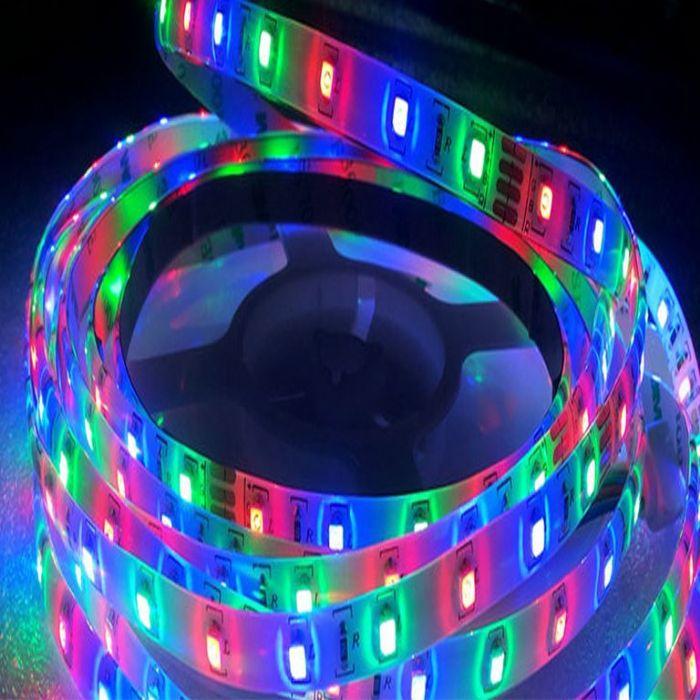 סרט לד - 5050 - 60 לד - 14.4 וואט - RGB - מחיר ל-1 מטר