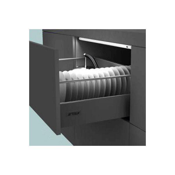 תאורת לד חיישן חשמלית למגירה - 2-3