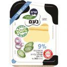 גבינה צהובה נעם דק דק 9% 360 גרם-טרה