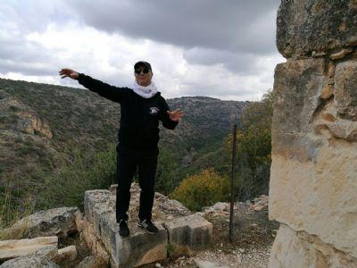 טיול ג'יפים בגליל המערבי - הדרכה במבצר המונפורט
