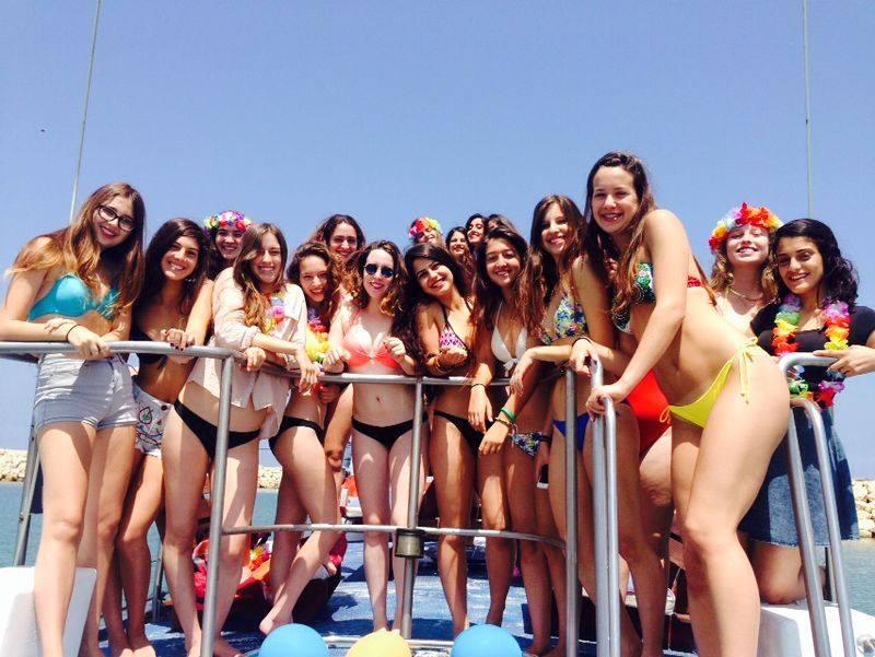 девишник на яхте в израиле