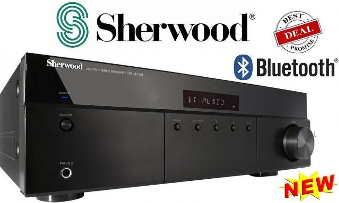 רסיבר 2 ערוצים Sherwood RX4508