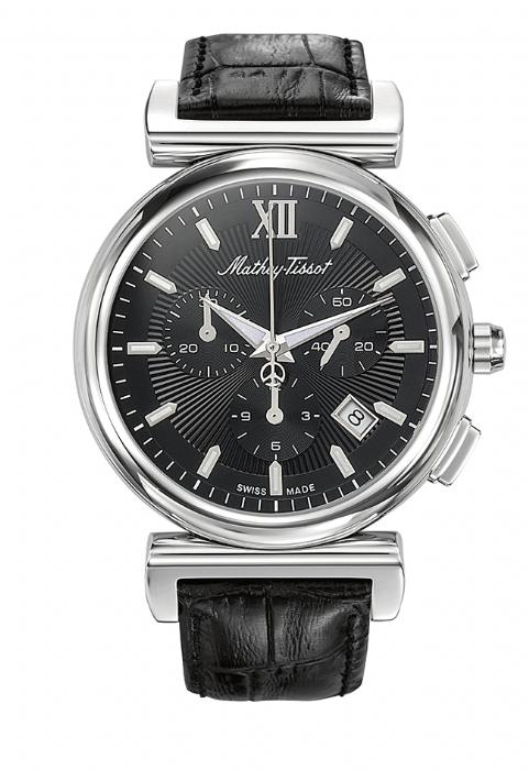 שעון שוויצרי מתיי טיסו  Mathey Tissot H410CHALN