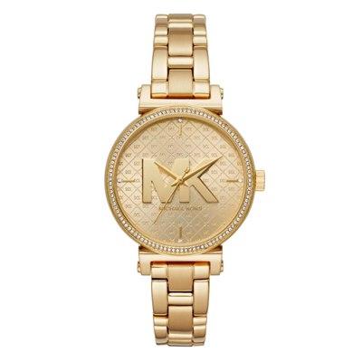 שעון יד לגבר מייקל קורס MK4334 צבע זהב