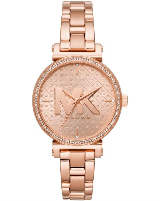 שעון יד לגבר מייקל קורס MK4335 צבע רוז גולד