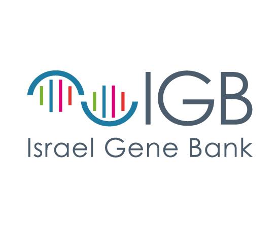 עיצוב לוגו בנק הגנים הישראלי