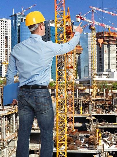בודק שכיר מפקח על הבנייה