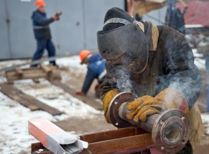 עובד מלחים צינור