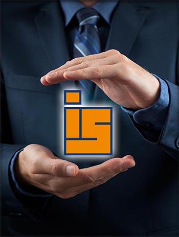 ידים עם הלוגו של חברת איציק סימון