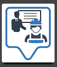 אייקון הכשרה והדרכה לעובדי בניין