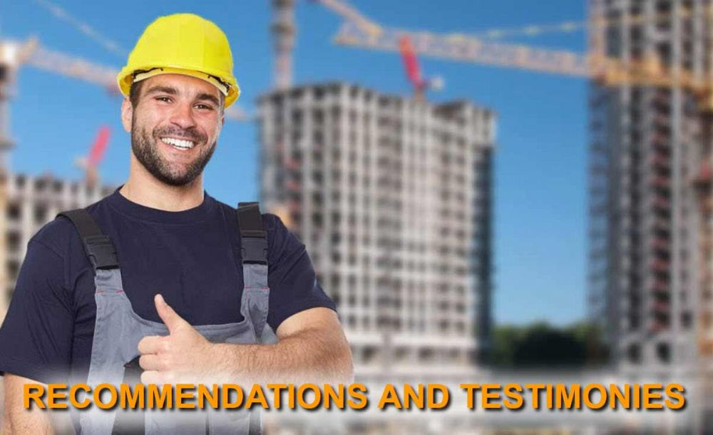 Recommendations and testimonies