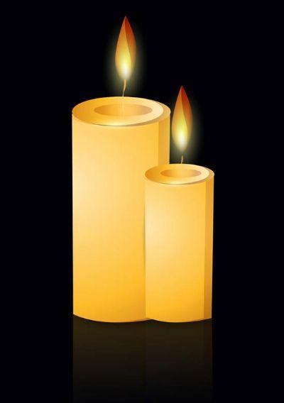 תמונות נרות יזכור