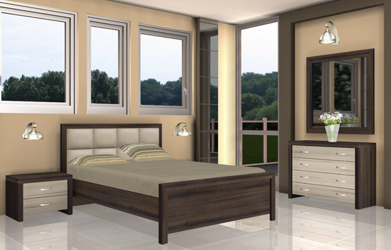 חדר שינה - דגם לומבארדי - טופ רהיט