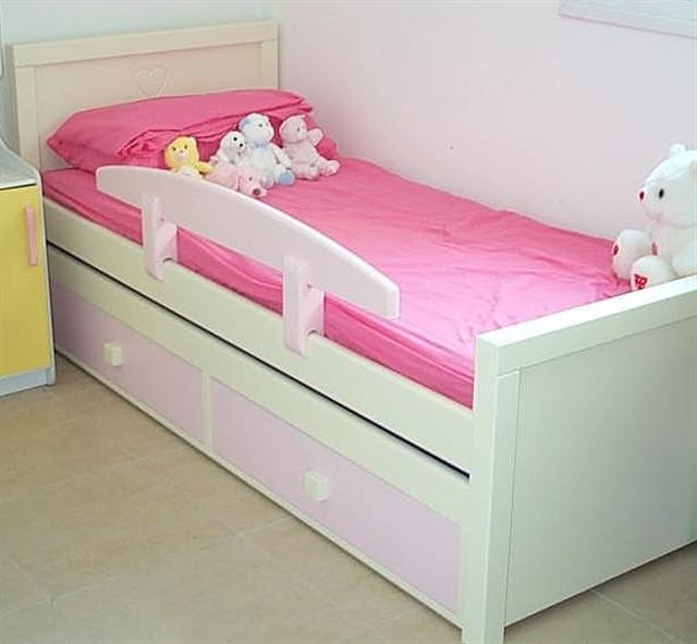 מיטת ילדים דגם ירדן+ מיטת חבר נגררת