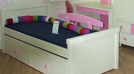 מיטת ילדים דגם לוטם + מיטת חבר נגררת