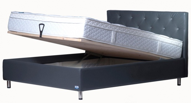בסיס מיטה של פולירון דגם שוהם