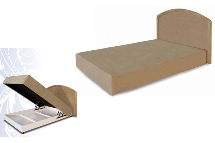 מזרוני קיסריה - מיטת בסיס עם תא אחסון