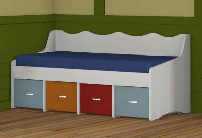 מיטת ילדים 190/80 דגם 0260