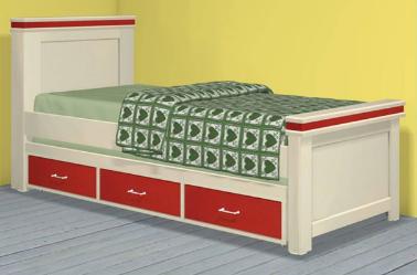 מיטת ילדים 190/80  דגם 263-1