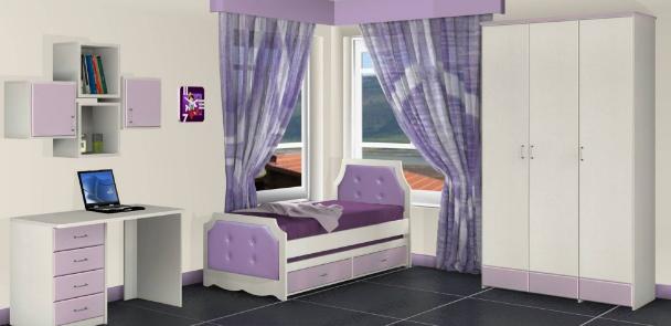 מיטת ילדים 190/80 דגם 0336