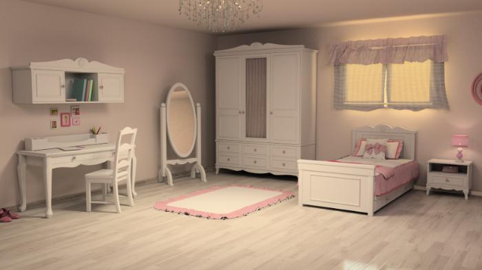 חדר ילדים - דגם אלמוג