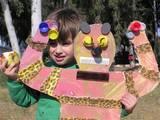 אומנות ממוחזרת בגן הילדים