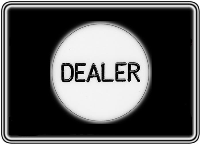 כפתור דילר לטקסס הולדם פוקר