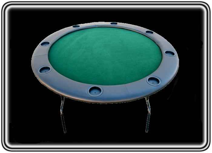 שולחן קלפים פוקר עגול 8 טקסס הולדם