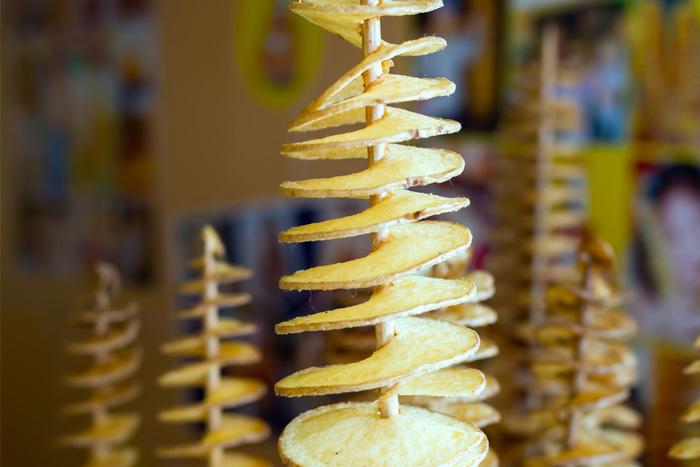 """תפו""""א מסולסל - spiral potato"""