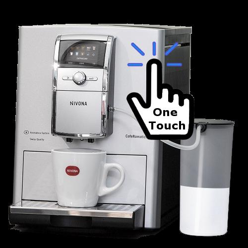 מכונת קפה סופר אוטומטית 842 Nivona CafeRomantica