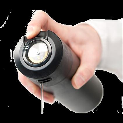 תרמוס מקצועי של הנדפרסו עם מדחום Thermo-Flask