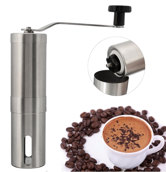 מטחנה קפה ידנית מנירוסטה תואם Porlex