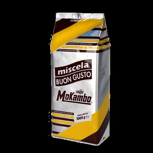 """1 ק""""ג קפה מוקמבו בון גוסטו Mokambo Buon Gusto"""
