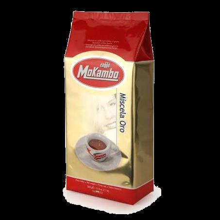 """1 ק""""ג קפה מוקמבו אורו - Caffe Mokambo Oro"""