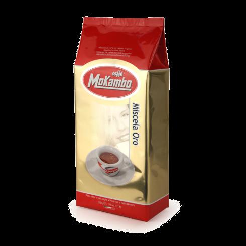 500 גרם קפה מוקמבו אורו Caffe Mokambo Oro
