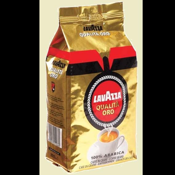 פולי קפה לאווצה Lavazza Qualita Oro Beans 1kg