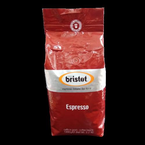 """1 ק""""ג קפה בריסטוט אספרסו Bristot Espresso"""