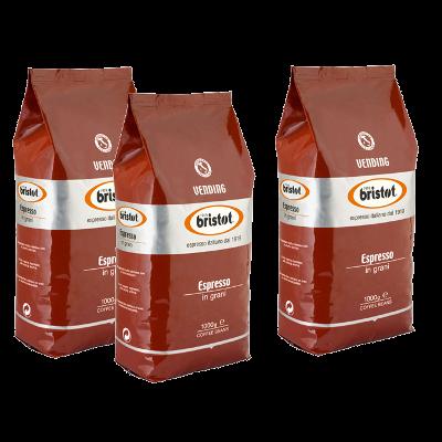 """3 ק""""ג קפה בריסטוט אספרסו Bristot espresso"""