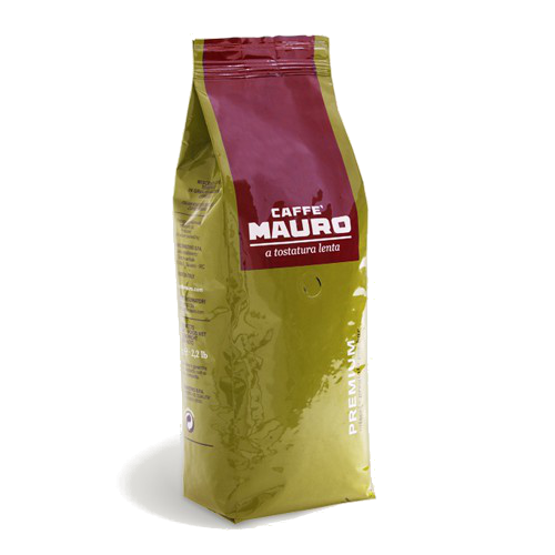 """1 ק""""ג פולי קפה מאורו פרימיום Mauro Premium"""