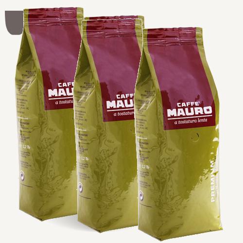 """3 ק""""ג פולי קפה מאורו פרימיום Mauro Premium"""