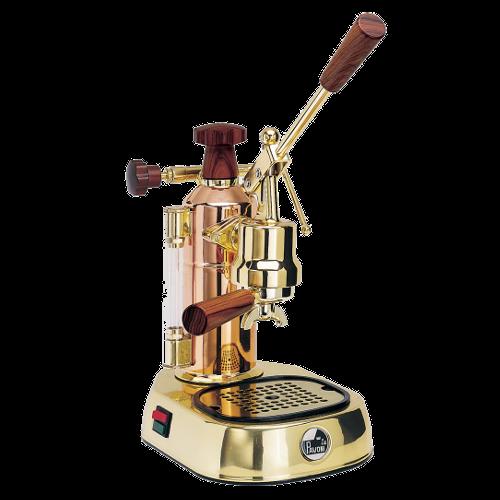 מכונת מנוף מוזהבת La Pavoni EUROPICCOLA ERG