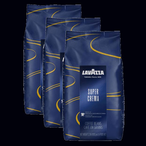 פולי קפה לוואצה Lavazza Super Crema Beans 3kg