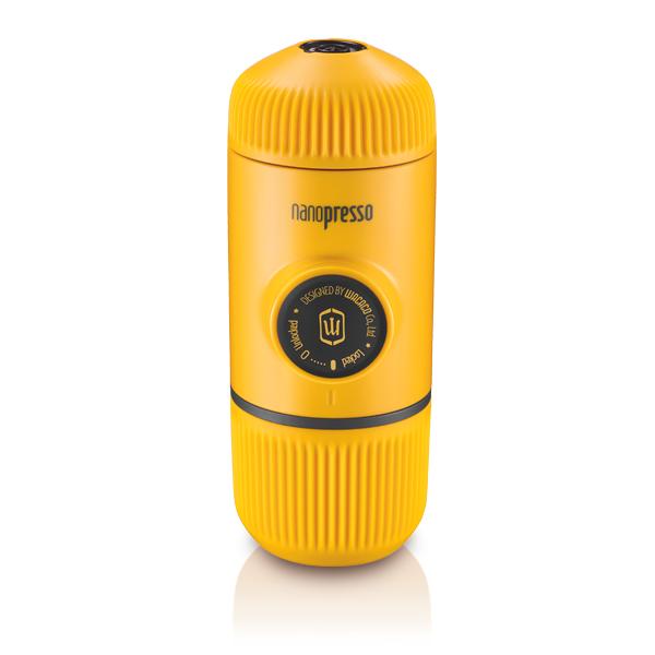 Nanopresso ננופרסו צהוב - מכונת האספרסו הטובה ביותר לשטח