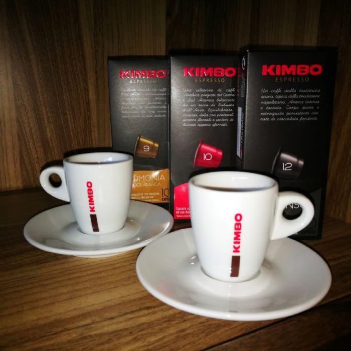 300 קפסולות תואמות נספרסו קימבו + זוג סיפלי קימבו