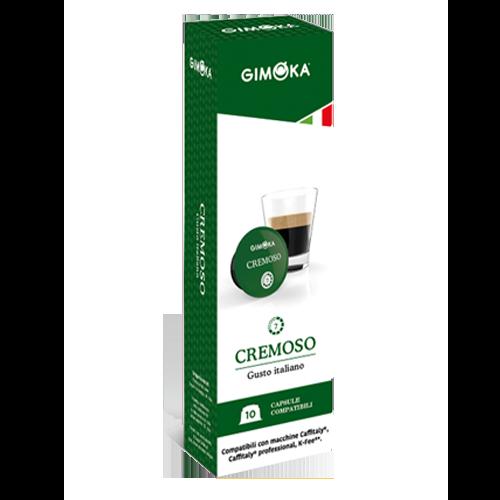 10 קפסולות Gimoka Cremoso תואמות קפילטלי