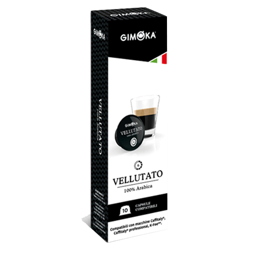 10 קפסולות Gimoka Vellutato תואם קפיטלי