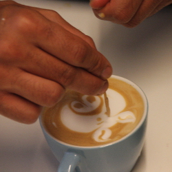 סדנא 24 ציורים בקפה, 24 בספטמבר - Latte Art