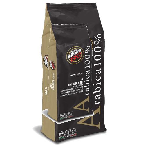 250 גרם פולי קפה 100% ערביקה Vergnano 1882