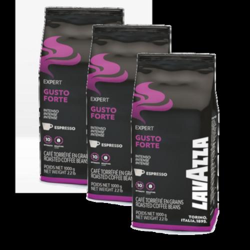פולי קפה Lavazza Gusto Forte 3Kg