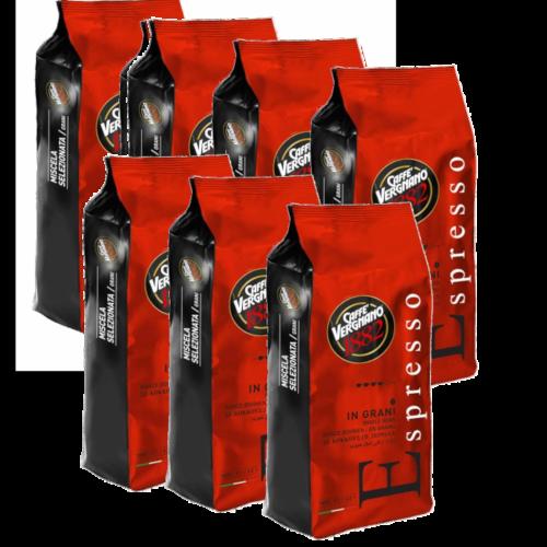 """6 ק""""ג פולי קפה Espresso Vergenano 1882"""